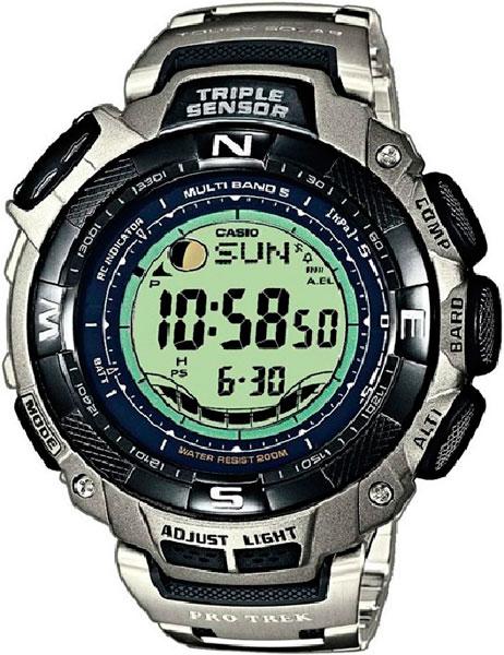 Мужские часы Casio PRW-1500T-7V casio prw 3500 1e