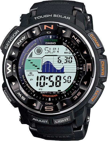 Мужские часы Casio PRW-2500-1E casio prw 3500y 1e