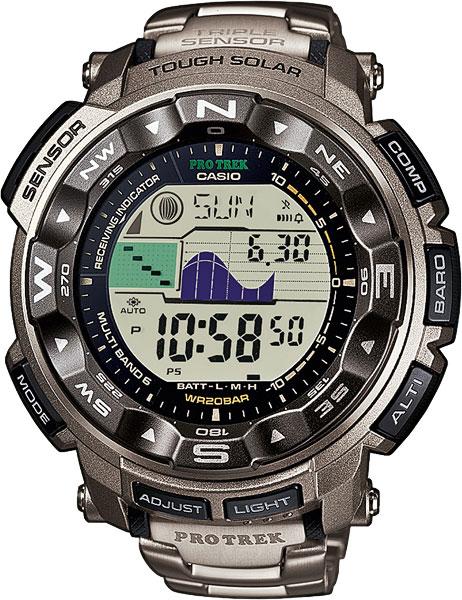 Мужские часы Casio PRW-2500T-7E casio protrek prw 2500t 7e