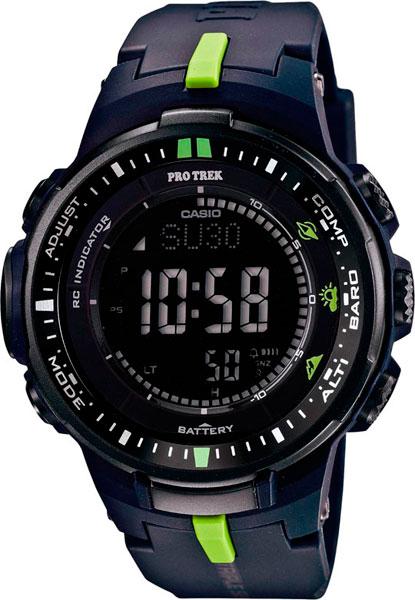 Мужские часы Casio PRW-3000-2E casio pro trek prw 6100y 1a