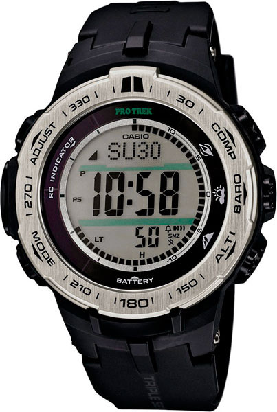 Мужские часы Casio PRW-3100-1E casio часы casio prw 5000 1e коллекция pro trek