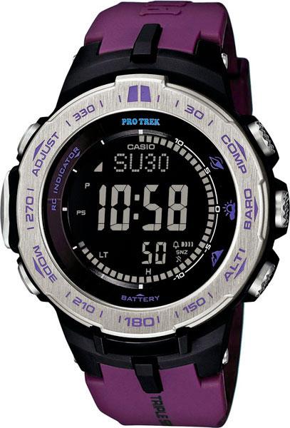 Мужские часы Casio PRW-3100-6E casio часы casio prw 7000 3e коллекция pro trek