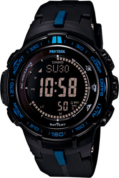Мужские часы Casio PRW-3100Y-1E casio часы casio prw 3510y 1e коллекция pro trek