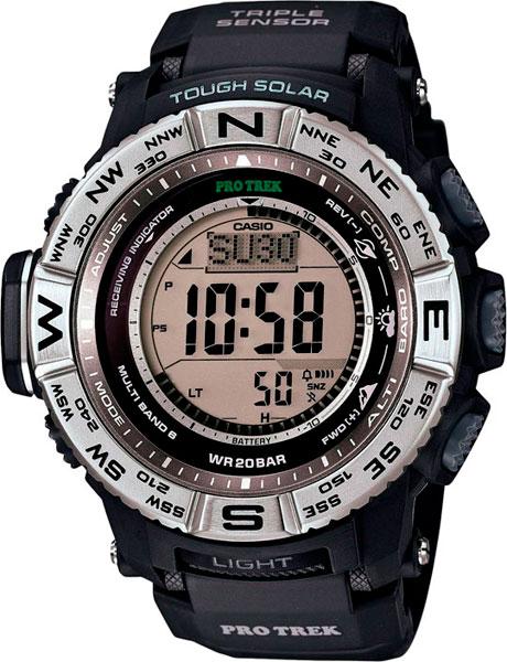 Мужские часы Casio PRW-3500-1E casio prw 3000 4e