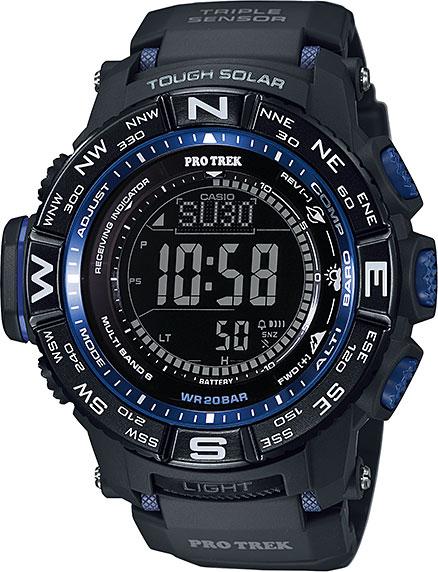 Мужские часы Casio PRW-3500Y-1E мужские часы casio prw 5000 1e