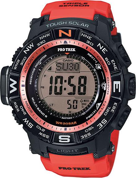 Мужские часы Casio PRW-3500Y-4E casio prw 3000 4e
