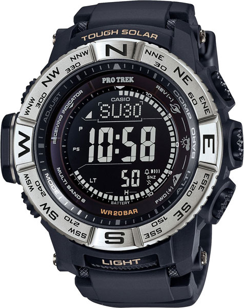 Мужские часы Casio PRW-3510-1E casio часы casio prw 5000 1e коллекция pro trek