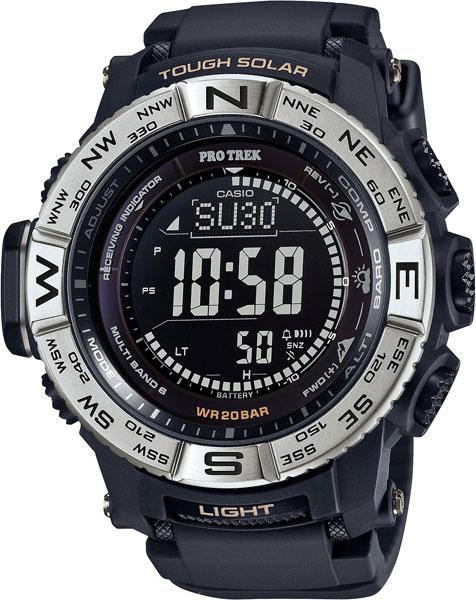 Мужские часы Casio PRW-3510-1E casio часы casio prw 5000 1e коллекция pro trek