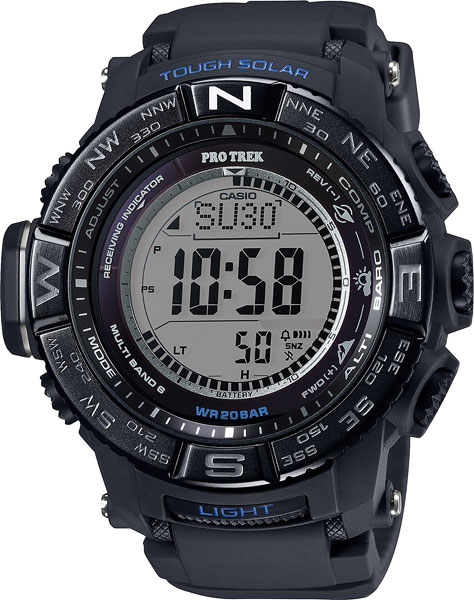 Мужские часы Casio PRW-3510Y-1E casio часы casio prw 3510y 1e коллекция pro trek