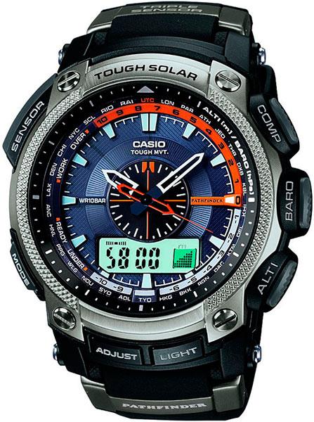 Мужские часы Casio PRW-5000-1E �������� casio protrek