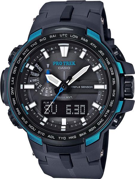 Мужские часы Casio PRW-6100Y-1A светильник odeon 2671 3c