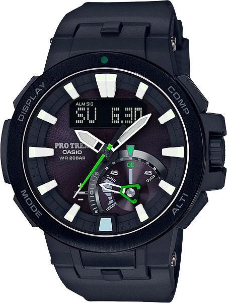 Мужские часы Casio PRW-7000-1A casio prw 3000 9b