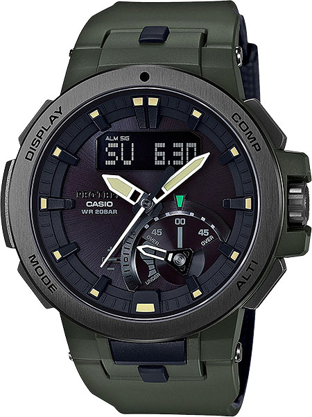 Мужские часы Casio PRW-7000-3E casio prw 3000 4e