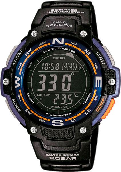 Мужские часы Casio SGW-100-2B sgw 100 2ber