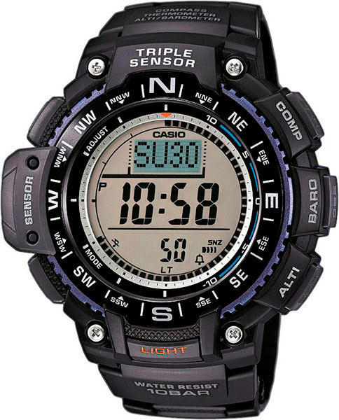 Мужские часы Casio SGW-1000-1A casio outgear sgw 450hd 1b