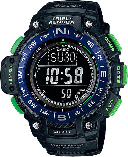 Мужские часы Casio SGW-1000-2B casio outgear sgw 300h 1a