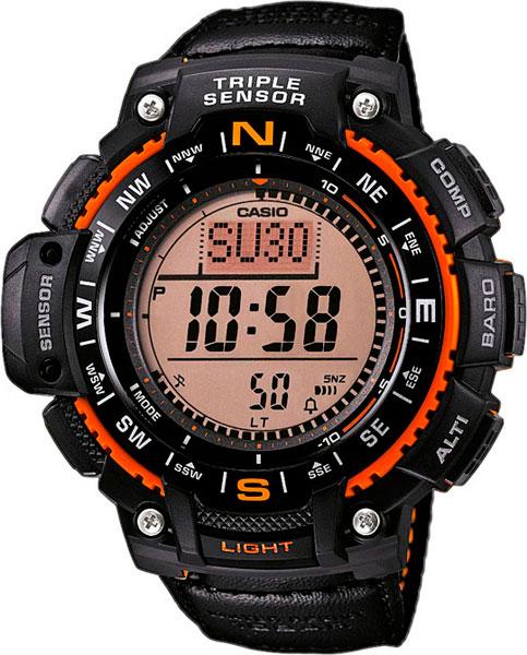 Мужские часы Casio SGW-1000B-4A casio outgear sgw 450hd 1b