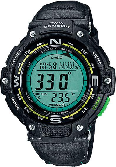 Мужские часы Casio SGW-100B-3A2 мужские часы casio sgw 100b 3a2