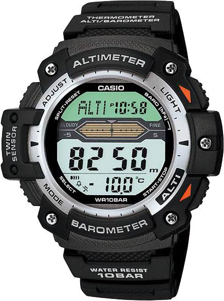 Мужские часы Casio SGW-300H-1A casio outgear sgw 300h 1a