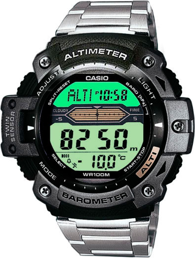 Мужские часы Casio SGW-300HD-1A casio outgear sgw 300h 1a