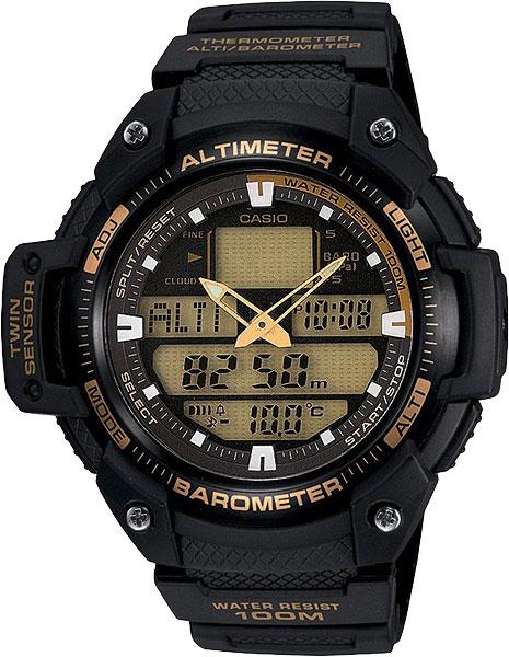 Мужские часы Casio SGW-400H-1B2 casio outgear sgw 300hd 1a
