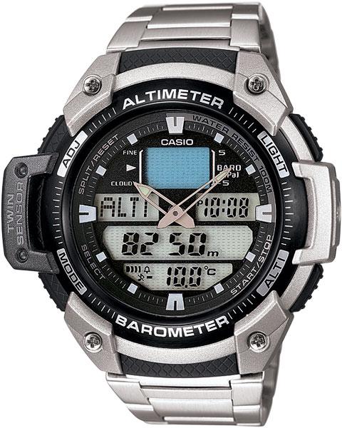 Мужские часы Casio SGW-400HD-1B casio outgear sgw 400h 1b