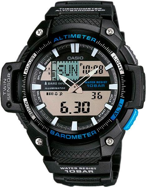 Мужские часы Casio SGW-450H-1A casio sgw 1000 1a