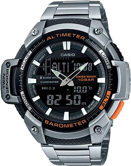 купить Мужские часы Casio SGW-450HD-1B по цене 8190 рублей