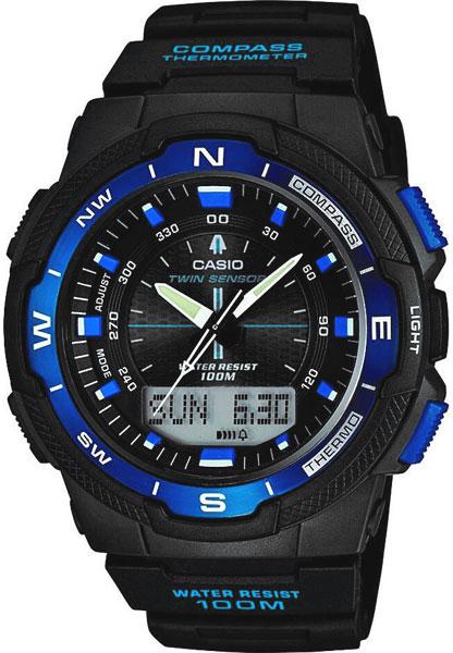 Мужские часы Casio SGW-500H-2B casio часы casio sgw 600h 1b коллекция digital