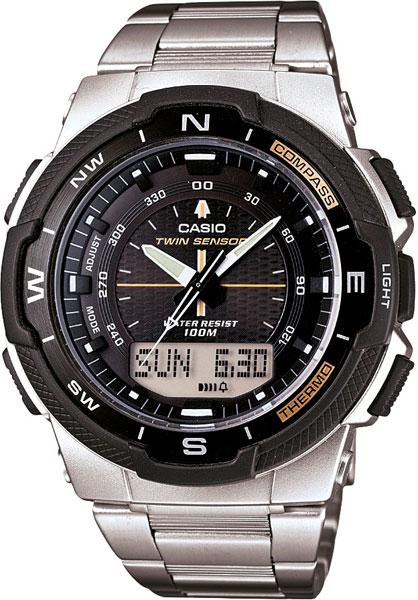Мужские часы Casio SGW-500HD-1B casio часы casio sgw 600h 1b коллекция digital