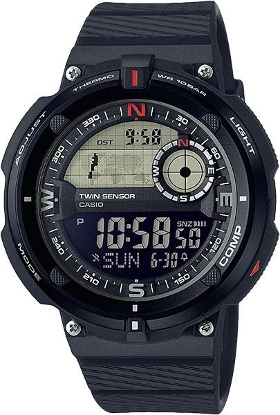 Мужские часы Casio SGW-600H-1B casio outgear sgw 450hd 1b