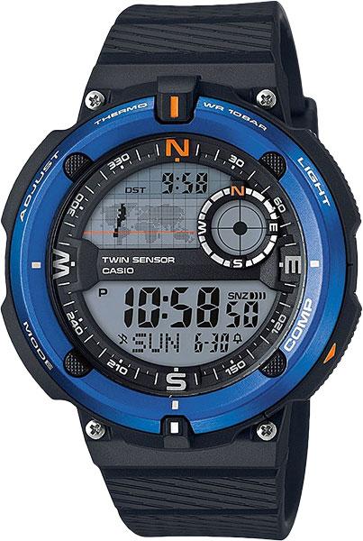 Мужские часы Casio SGW-600H-2A casio часы casio sgw 600h 1b коллекция digital