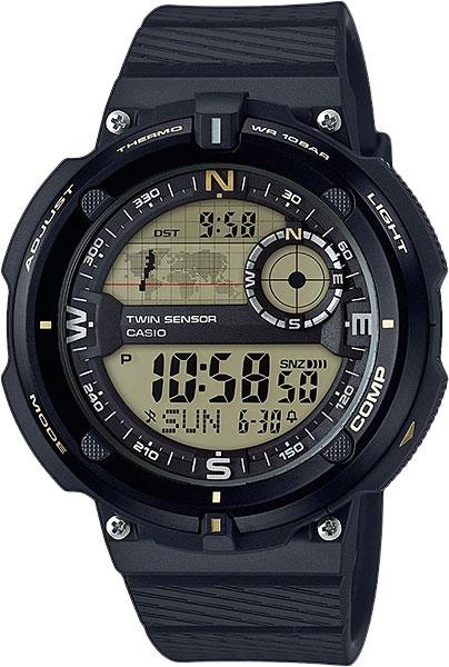 Мужские часы Casio SGW-600H-9A casio sgw 600h 1b