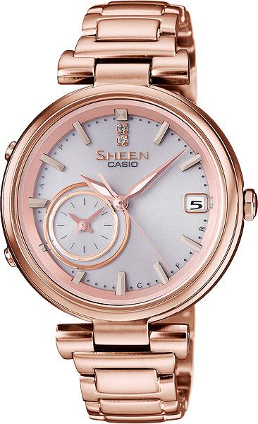 где купить Женские часы Casio SHB-100CG-4A по лучшей цене