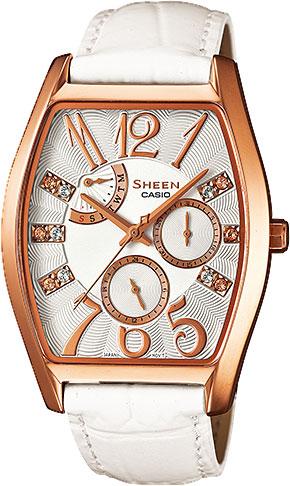 Женские часы Casio SHE-3026GL-7A casio sheen multi hand shn 3013d 7a