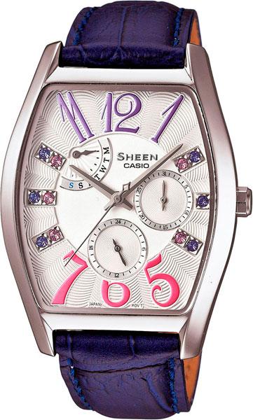 Женские часы Casio SHE-3026L-7A3 часы наручные casio часы sheen she 3034spg 7a