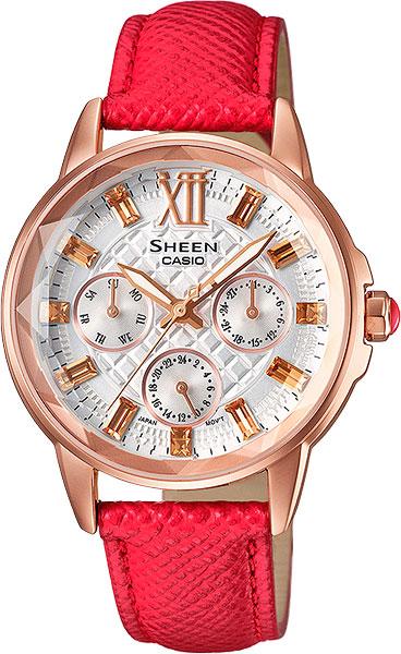 Женские часы Casio SHE-3029PGL-7A часы наручные casio часы sheen she 3034spg 7a