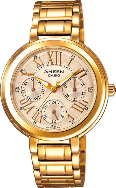 Женские часы Casio SHE-3034GD-9A цена