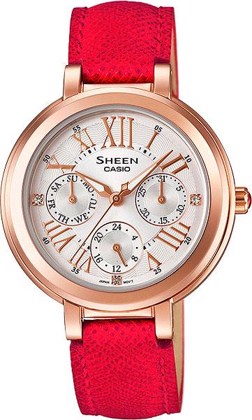 Женские часы Casio SHE-3034GL-7B casio she 3034gl 5a