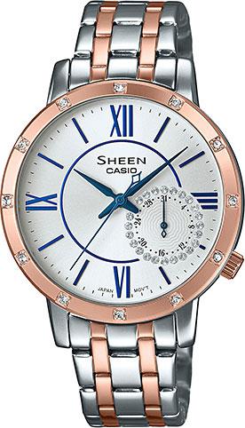 Женские часы Casio SHE-3046SGP-7B цена и фото