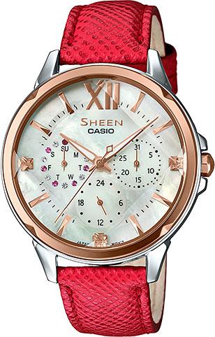 Женские часы Casio SHE-3056GL-7A what she left