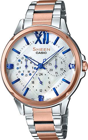 Женские часы Casio SHE-3056SPG-7A женские часы casio lth 1060l 7a