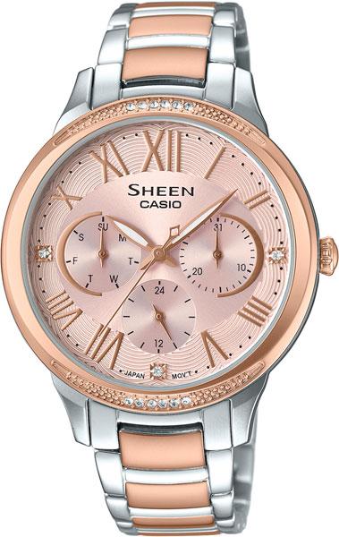 Женские часы Casio SHE-3058SPG-4A блокнот блокнот 162x210 мм 144 стр лин