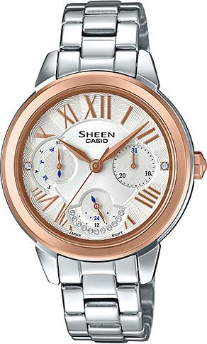 Женские часы Casio SHE-3059SG-7A casio sheen multi hand shn 3013d 7a