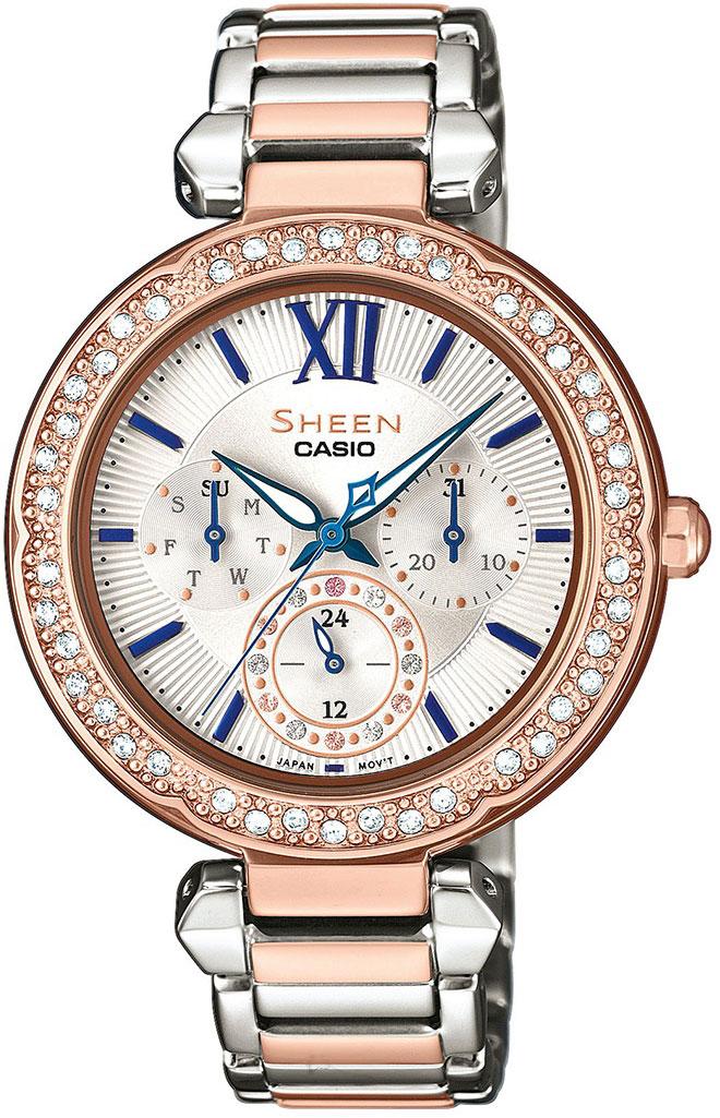 Женские часы Casio SHE-3061SPG-7B цена и фото