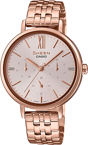 Женские часы Casio SHE-3064PG-4A casio she 3511d 4a