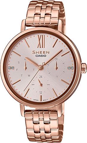 Женские часы Casio SHE-3064PG-4A цена и фото