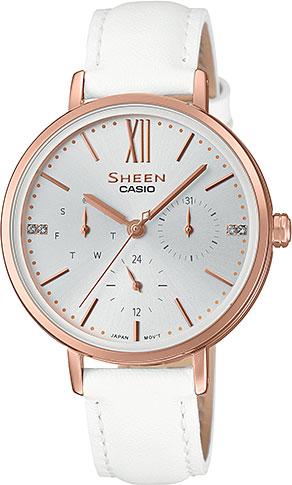 Женские часы Casio SHE-3064PGL-7A женские часы casio lth 1060l 7a