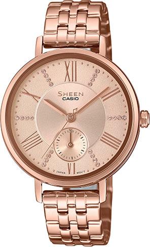 Женские часы Casio SHE-3066PG-4A цена и фото
