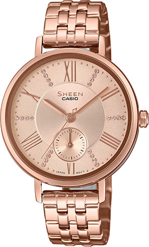 Женские часы Casio SHE-3066PG-4A